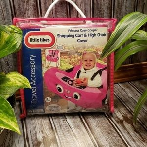 Cozy Coupe highchair and cart cover
